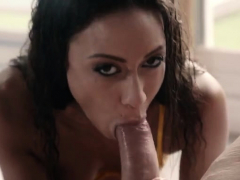 brunette pornstar anal and cum in mouth