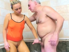 awesome slut is into old dudes and their hard dongs