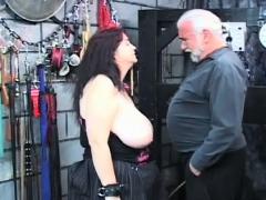 Hot Scenes Of Coarse Bondage On Breasty Babe's Fur Pie Porn Video