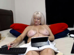 great amateur video of great mature huge boobs poking