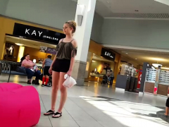 monster butt blonde fucks pov in public