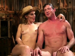 Cowgirl Jerks Guys Cock