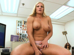lovely blonde amber irons with large tits screwed well