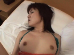 Breathtaking oriental darling banged hard