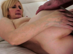 Busty European Mature Anally Fucked In Spoon