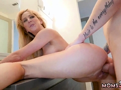 blonde-shaved-milf-masturbating-cherie-got-humped-by-her