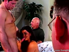 Swinger Wife Rides A Strangers Hard Dick