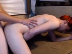 Redhead Teen's Ass Gets Anal Pleasure Live On Cruisingcams C