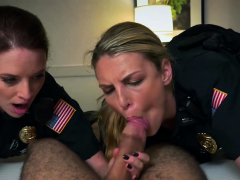 Marcus Gets His Cock Ridden By Perverted Milf Officers