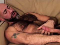 hairy-bear-wanking-his-throbbing-dong