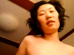 Horny Korean Amateur GF Fuck on Top