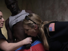 Dirty lesbian cops using a black suspect
