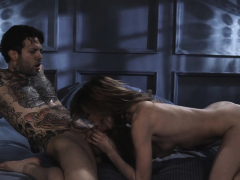Aiden Comfort Herself With Smalls Throbbing Cock