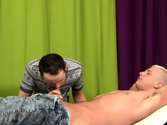 It's no simple massage for Deacon when horny Ethan is the