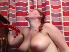 Busty Adriana Pantyhose Fetish Masturbation With Nylons