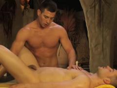 Anal Massage Relaxes His Ass