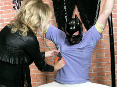 frenzybdsm-cock-and-balls-vaxing-and-bondage
