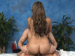 Lusty brunette diva Ella Milano fucks and deepthroats