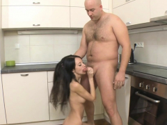 Magical russian darling Martina B fulfills fucking dream