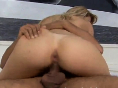 Blonde Sara Lopez Fucked In The Ass