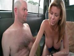 Straight Guy Tricked Into Gay Fuck In The Bus