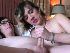 Cute blonde ts chick getting anally ruined