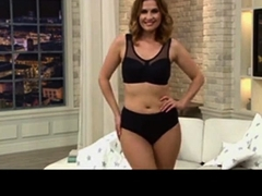 Milf In Bra & Panties - Teleshopping