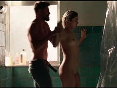 Sophie Charlotte nua pelada na serie Ilha de Ferro Globo