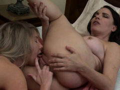 hot-milf-enjoys-licking-and-fingering-youngsters-tight-pussy