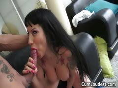 Big Cock Loving Spanish Sluts Sucking Part5