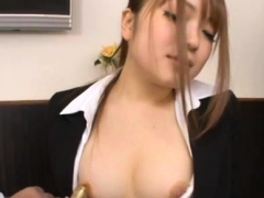 Hot naked asian woman on web camera