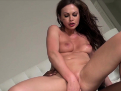 Feisty Housewife cannot have enough BBC up her fine Ass