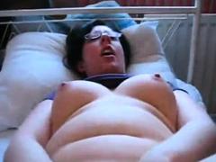 chubby-nerd-groped-dildo