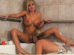 Jacuzzi Action With Two Smoking Hot Girl