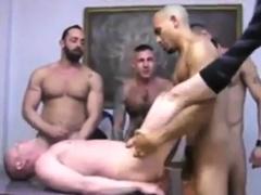 Bareback DP Orgy