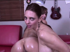 Mindi Mink And Sinful Elissa In Hot Lesbian Action