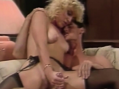Seventies Blonde Gets Vintage Fuck With Arousing Sex