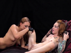 fervent lesbian cuties get sprayed with piss and squi99jbw