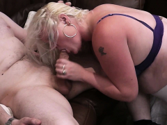 Chubby Blonde Bbw Sex On The Floor