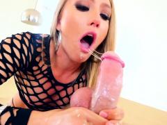Hot Blonde Pov Sucking And Stroking