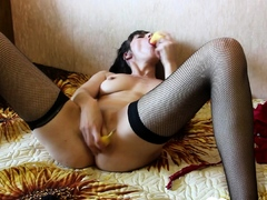 Stepsister Moans In Pleasure From Her Sex Toy