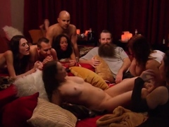 Playful couples are playing naughty and kinky games!
