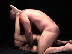 hung-hairy-muscle-dad-fucks-tiny-young-slave-boy-bareback