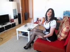 smoking-housemaid