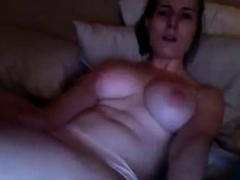 Hot Girl Watching Porn And Masturbate