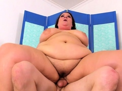 Fat Hottie Jessica Lust Fucks Skinny Guy