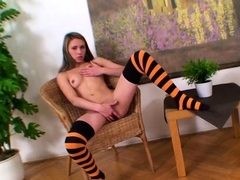 sultry-blonde-maeketa-with-fingers-on-her-cuch