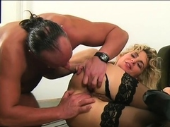 Hot Young Blonde Bride Has Hardcore Anal
