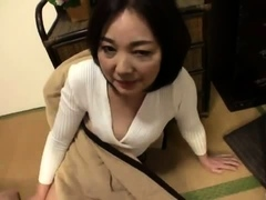 japanese hairy twat fingering