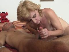 blonde-girlfriends-mom-helps-him-feel-better